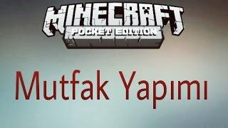 Minecraft PE :Mutfak Yapımı