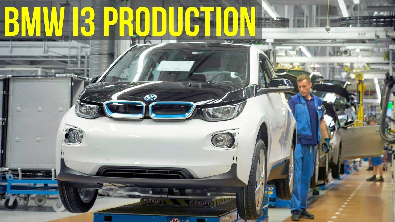 Bmw I3 Production Leipzig Youtube