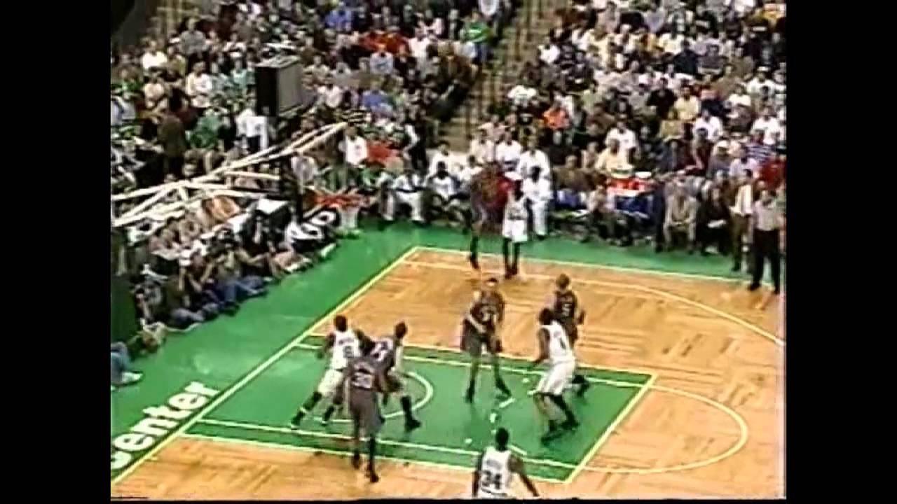 official photos 3555e 02205 Boston Celtics' amazing 26 point comeback vs Nets (2002 ECF GM3)  (2002.05.02)