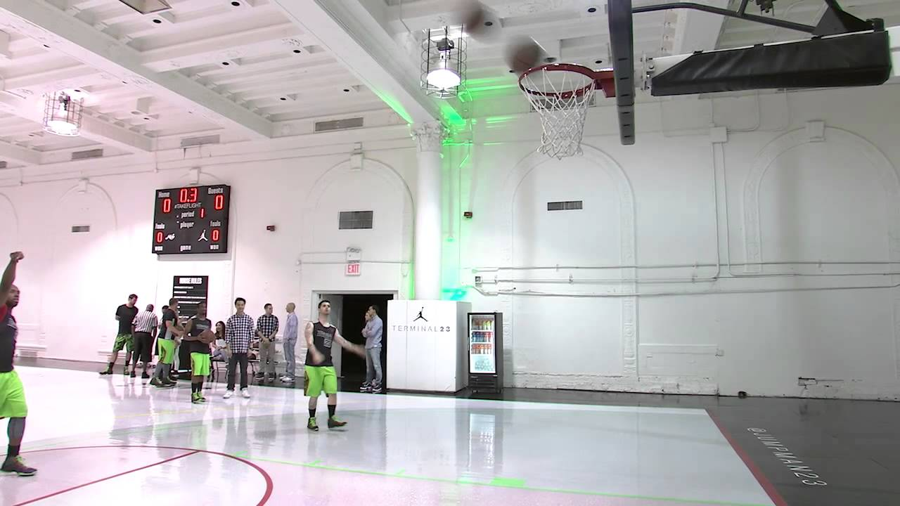 ea646a930939 Inside look at the Jordan Brand Super.Fly 4 wear test at Terminal 23 -  YouTube