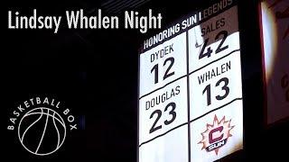 [WNBA] Connecticut Sun's Lindsay Whalen Night, August 23, 2019