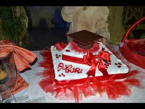 Decorazioni Sala Laurea : La festa di laurea di roby youtube