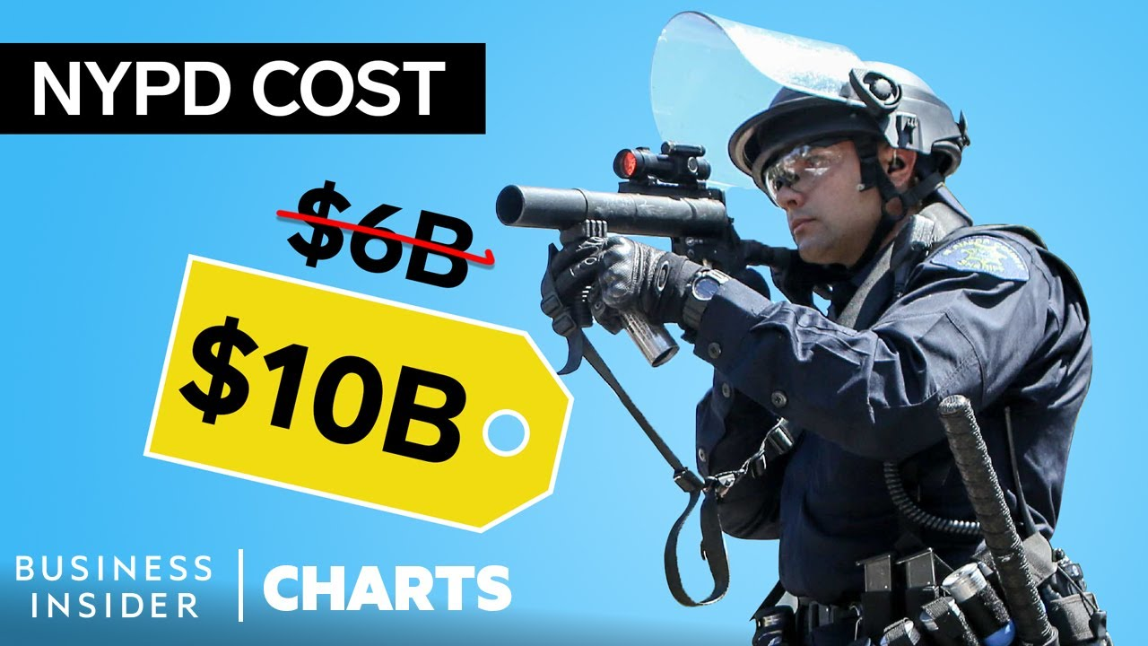 How The NYPD Became The Most Expensive Police Force In The US