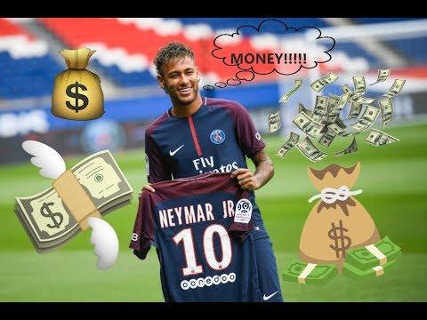 Neymar`s New Salary At PSG! (USD) JUST INSANE!!!