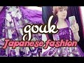 GOUK: REAL WA-LOLITA style and Japan's tradition woven into tasteful J-fashion