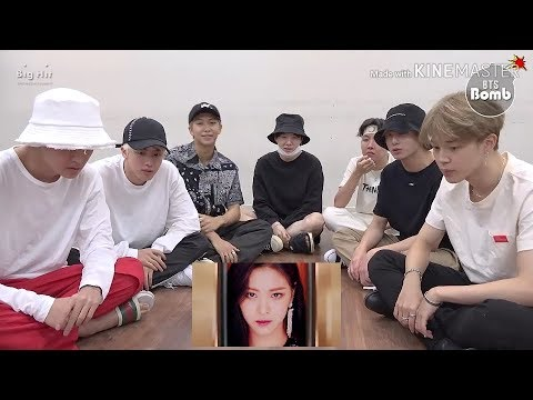 BTS REACTING TO ITZY 'DALLA DALLA' MV WITH SUBS (FMV)