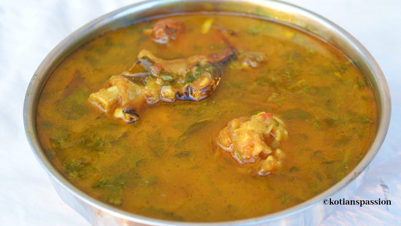 Paya Soup Recipe|Mutton Paya Soup|ಕುರಿ ಕಾಲು ಸೂಪ್ |Goat ...