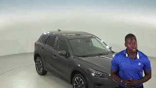 A96703PT - Used, 2016, Mazda CX-5, Grand Touring, AWD, Gray, Test Drive, Review, For Sale -