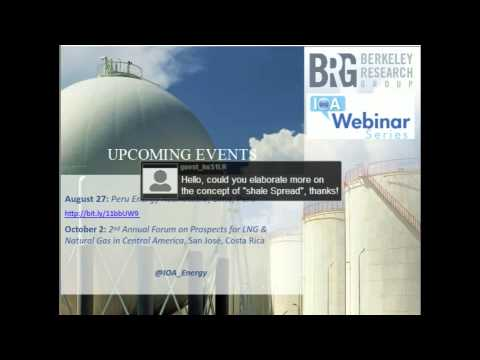 LNG in the Americas July 2, 2013 Webinar