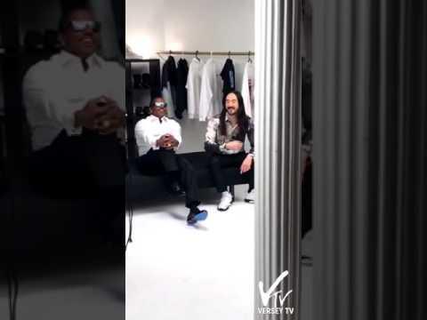 """Mase & Steve Aoki - Video Shoot for """"4,000,000"""""""