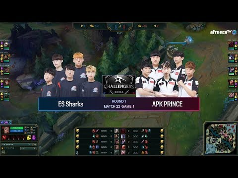 ES Sharks vs APK Prince vod