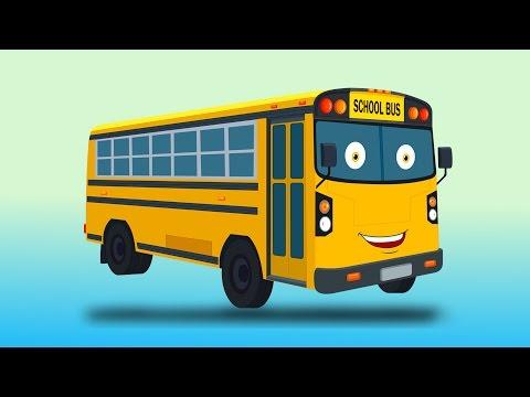 Zobic autobus scolaire   Véhicules pour enfants   enfants vidéo   Kids Vehicles   Zobic School Bus
