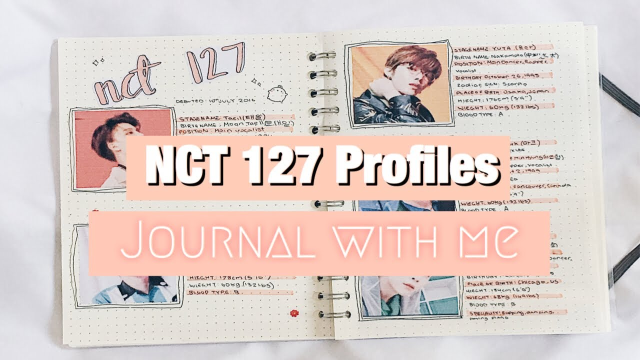 Journal With Me L Nct 127 Profiles Youtube Baek ji young (baek z young) profile. journal with me l nct 127 profiles