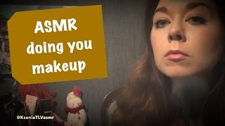 ASMR/АСМР/ДЕЛАЮ МАКИЯЖ/asmr doing you makeup /role play/(, 2016-09-07T20:13:23.000Z)