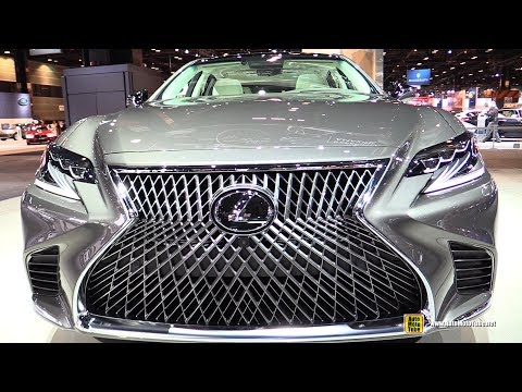 2018 Lexus LS500 Exterior and Interior Walkaround 2017 Chicago Auto Show
