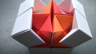 Video origami - action origami - double star flexicube (David Brill) - tutorial - dutchpapergirl download MP3, 3GP, MP4, WEBM, AVI, FLV Desember 2017