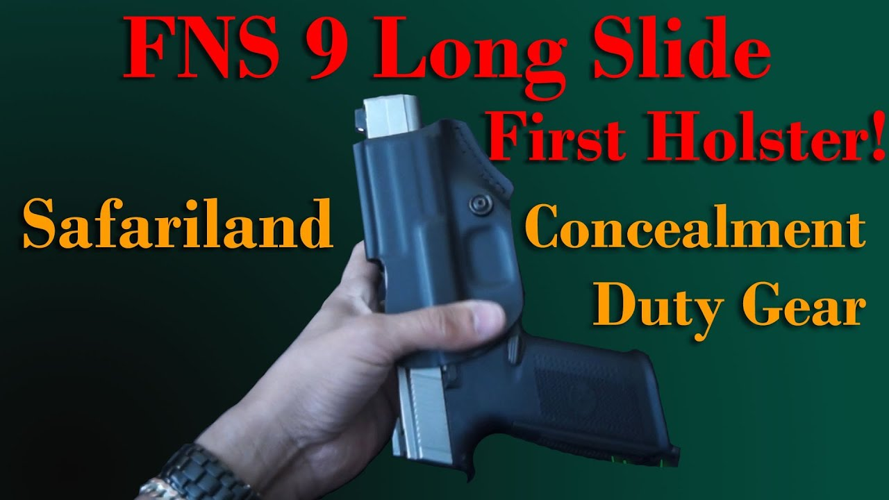 Holster for FNS 9 Lng Slide for IDPA