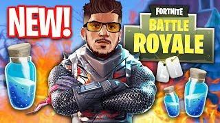 NEW UPDATE!! *MINI SHIELDS* (Fortnite Battle Royale)