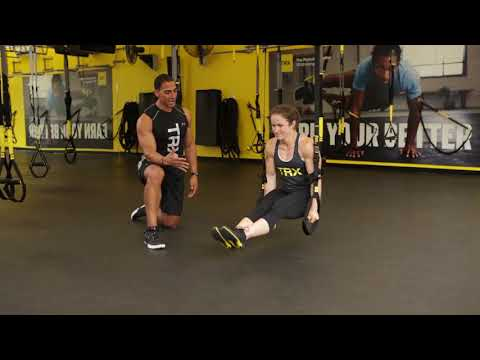 Dynamic Duo: TRX Duo Trainer L-Sit