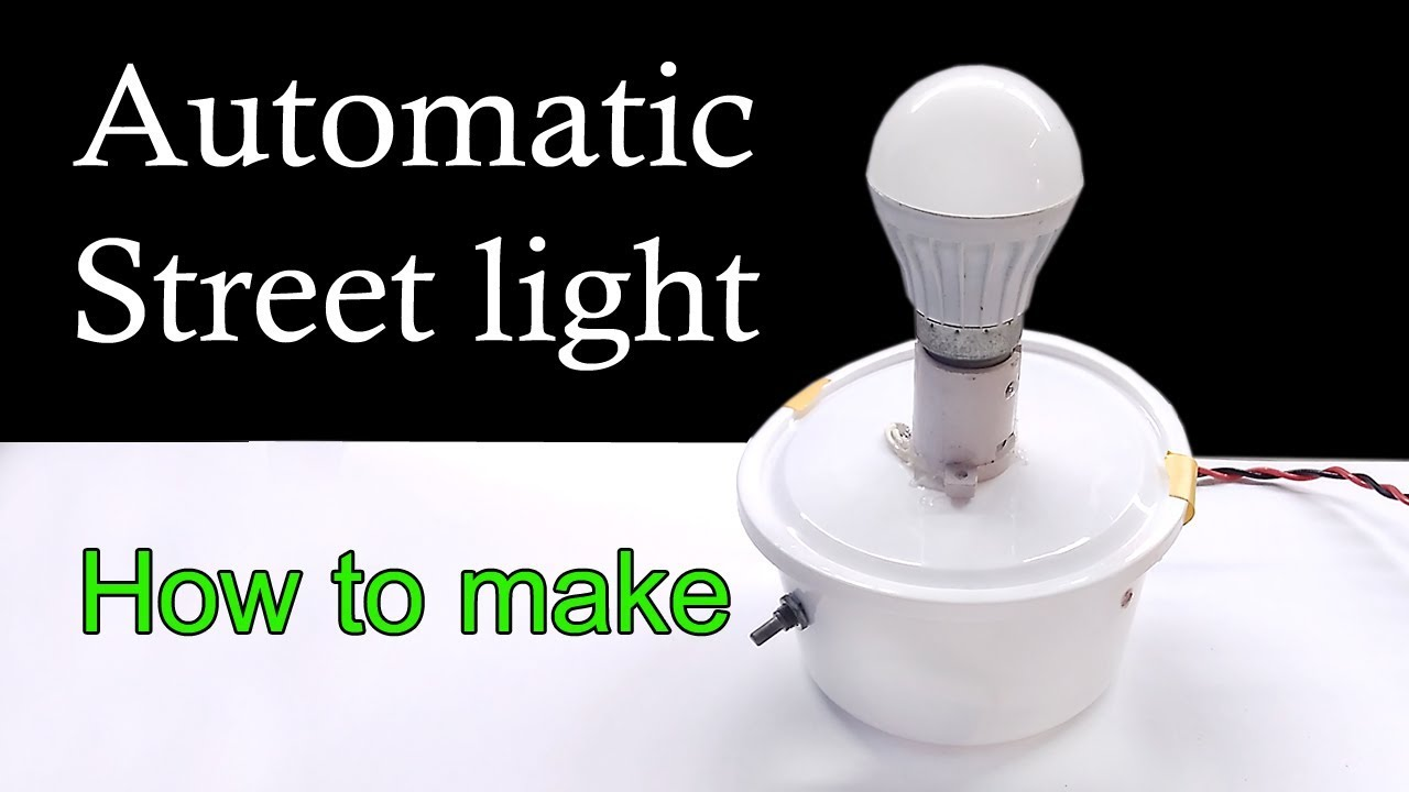 Automatic Street Light Using Ldr How To Make Youtube Circuit Diagram