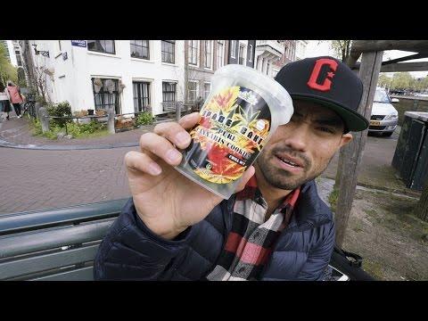 EATING CANNABIS COOKIES IN AMSTERDAM