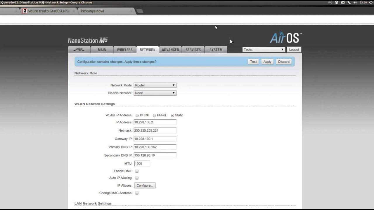 Tutorial Guifi.net - Primeros pasos - Cómo configurar tu antena Ubiquiti