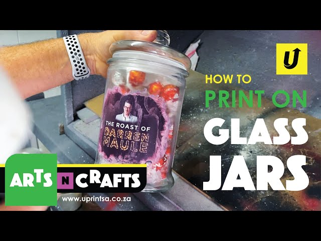 How To Print On Glass Jars | Arts & Crafts | Full Colour Printing