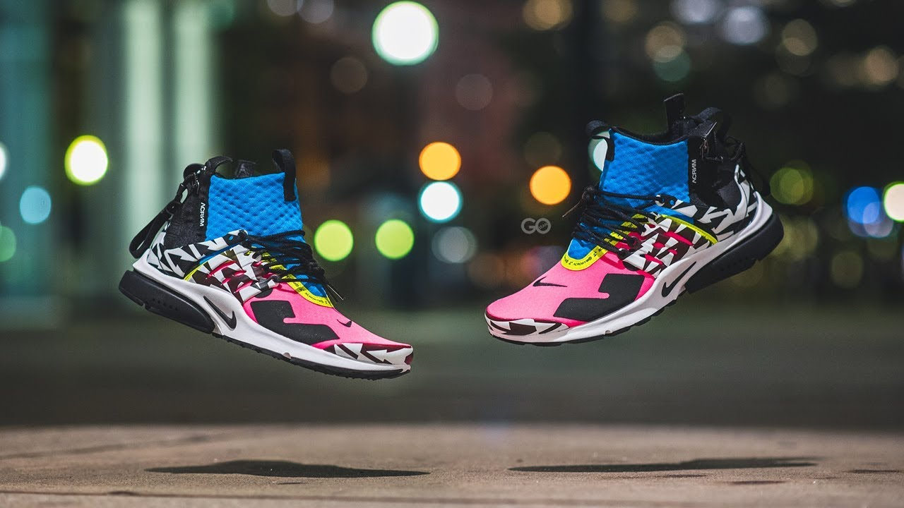 sneakers for cheap 06634 77e12 ... clearance acronym x nike air presto mid racer pink review on feet 56d39  6d1a0