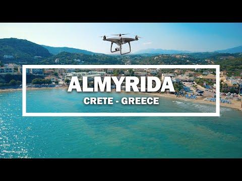 🎬 Almyrida, Crete - Greece ✈ (Drone)