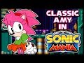 Classic Amy In Sonic Mania Sonic Mania Mod Showcase mp3