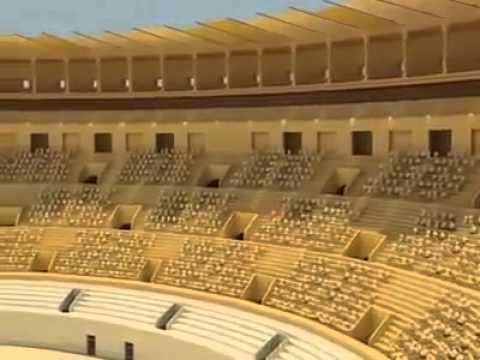 L'Amphitheatre d'El Jem 3D