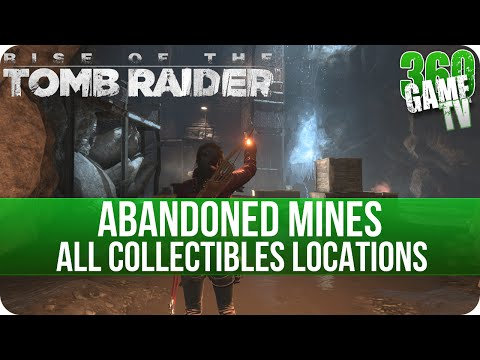 Rise of the Tomb Raider - Abandoned Mines - All Collectibles Locations