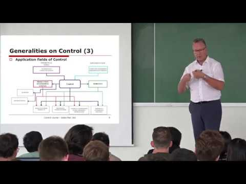 Control Course with professor Didier Dumur [1/2]