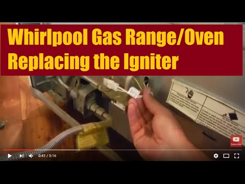 Gas Range Oven Stove Flat Ignitor for Whirlpool 98005652