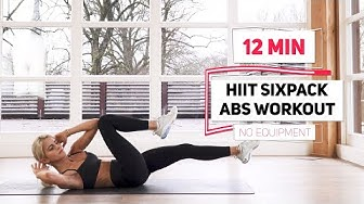 12 MINUTES SIXPACK ABS WORKOUT | no equipment | Caro Daur #DAURPOWER