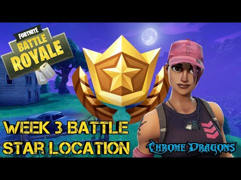 Fortnite Battle Royale - Season 5 Week 3 Battle Star Location