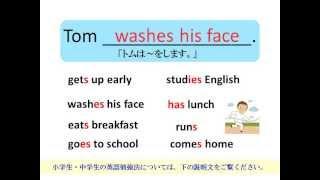 小学生の英語勉強法では、目で見て、耳で聞いて、マネをする。これが一...