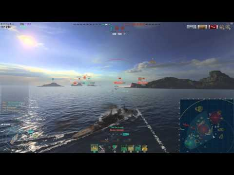 World of Warships: Deleting Cruisers with German Firepower - Roon Commentary [122k damage]