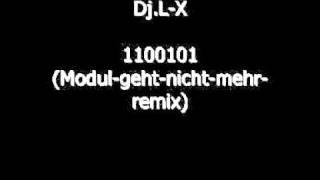 Dj L X Feat Das Modul 1100101 2011 Remix