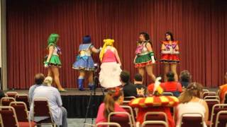 The Salad Time Soldiers at Glass City Anime Con 2011 in Perrysburg, Ohio