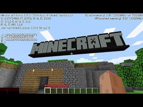 I Found Minecraft's *SECRET* Tutorial World