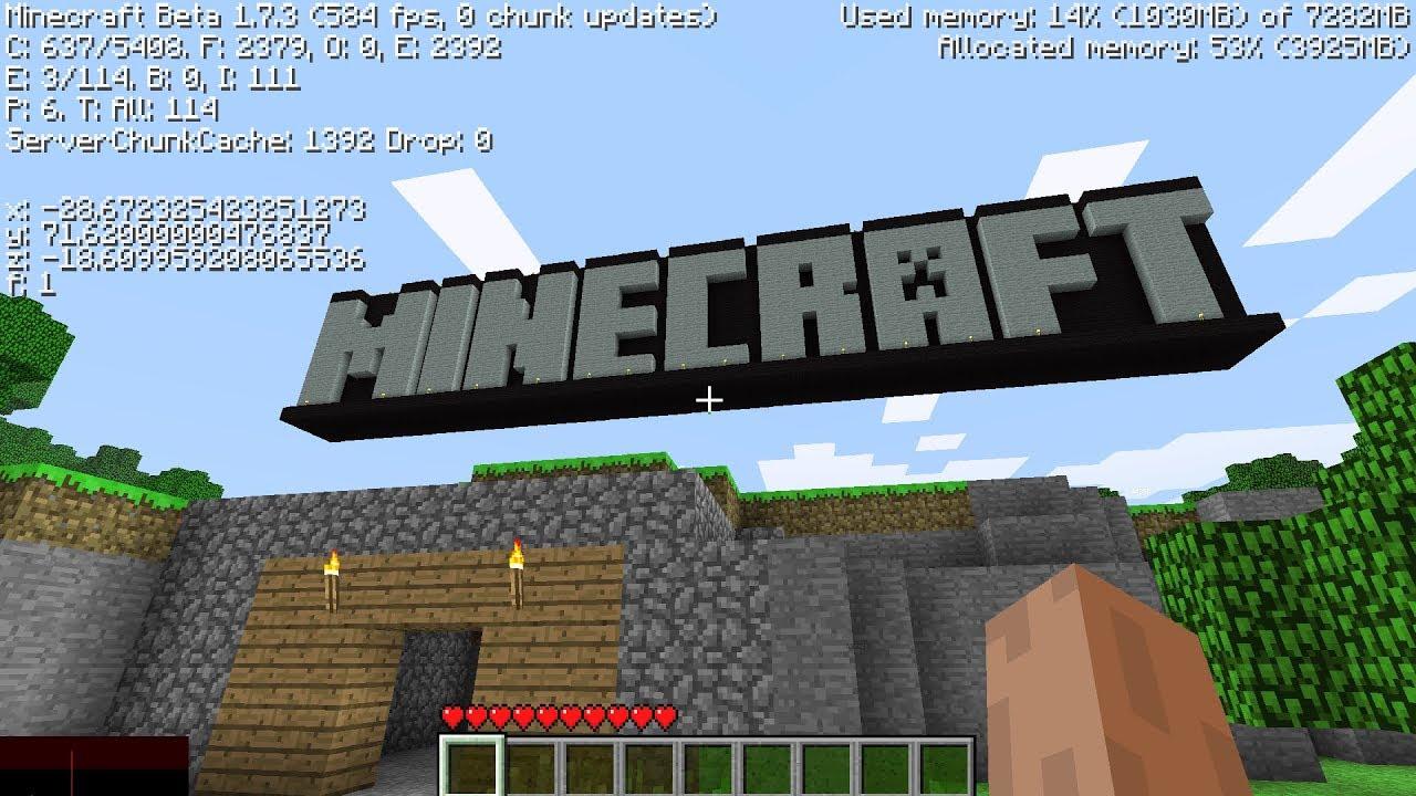 I Found Minecraft S Secret Tutorial World Youtube