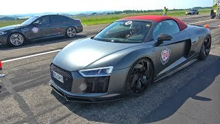 610HP Audi R8 V10 Plus Spyder w/ LOUD ASG EXHAUST!