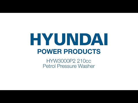 Unboxing The HYUNDAI HYW3000P2 2800PSI Petrol Pressure Washer