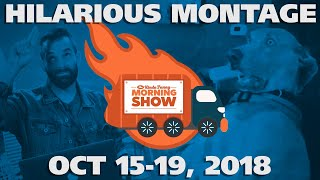 Kinda Funny Morning Show Hilarious Montage - Oct 15-19, 2018