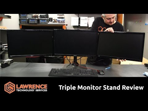 "ezm-deluxe-triple-monitor-mount-stand-review-supports-up-to-3-28""-monitors"