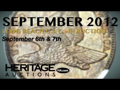Heritage Auctions (HA.com) -- September 2012 Long Beach Signature® U.S. Coin Auction #1174