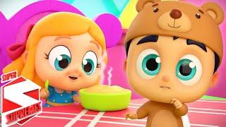 New Goldilocks Song | Goldilocks And The Three Bears | Nursery Rhymes and Kids Songs