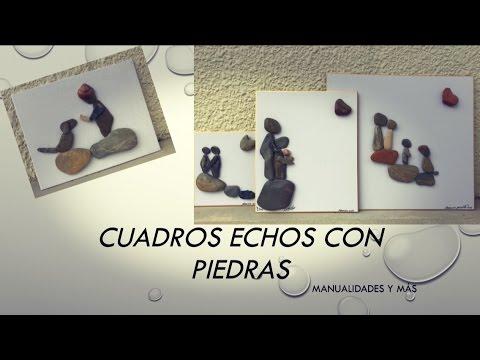Cuadros echos de piedras youtube for Cuadros hechos con piedras