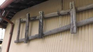 Old Wooden Japanese Ladders